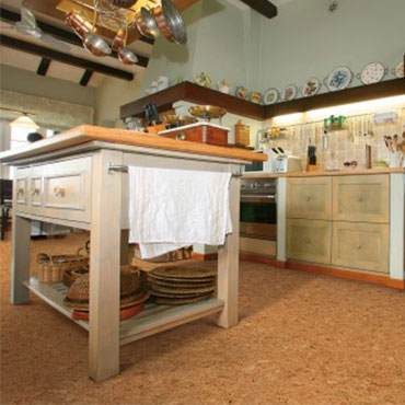 Natural Cork Plank Flooring